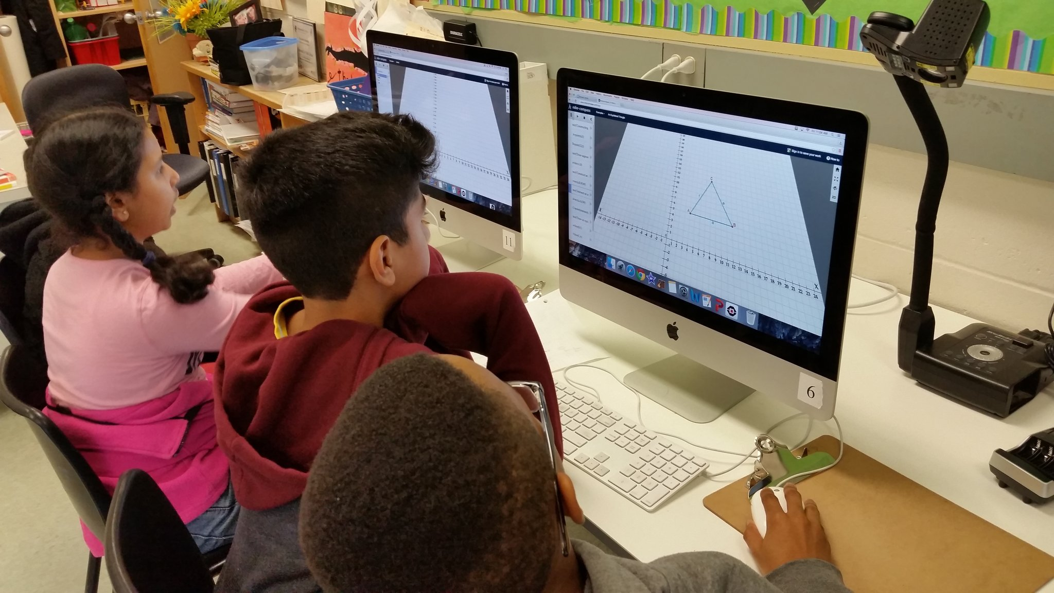 Exploring code and geometry using Robocompass